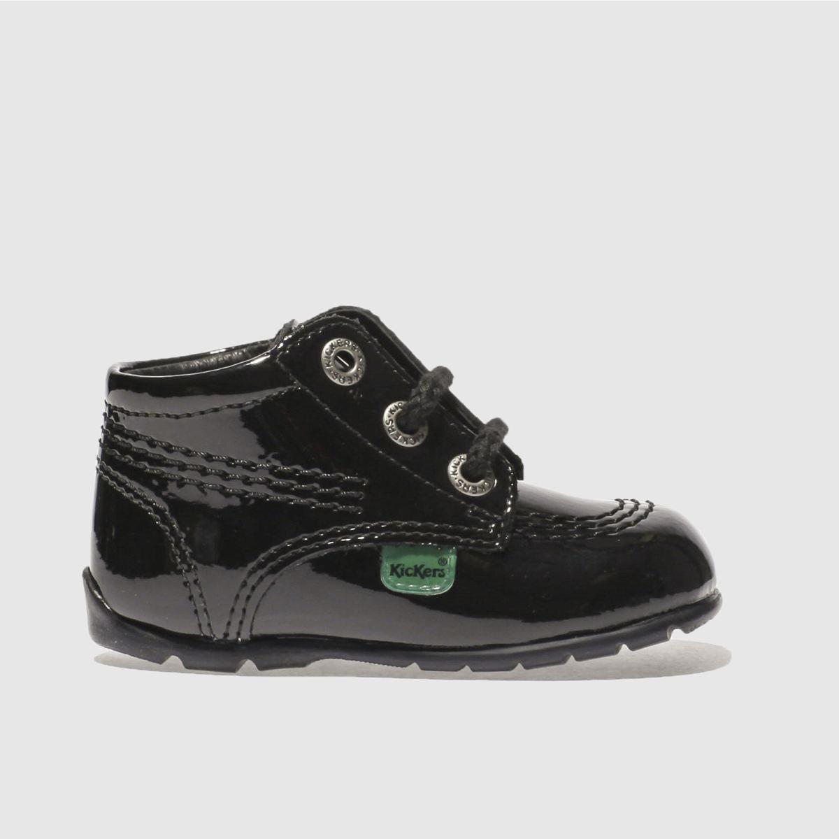 Kickers Black Kick Hi Shoes Baby