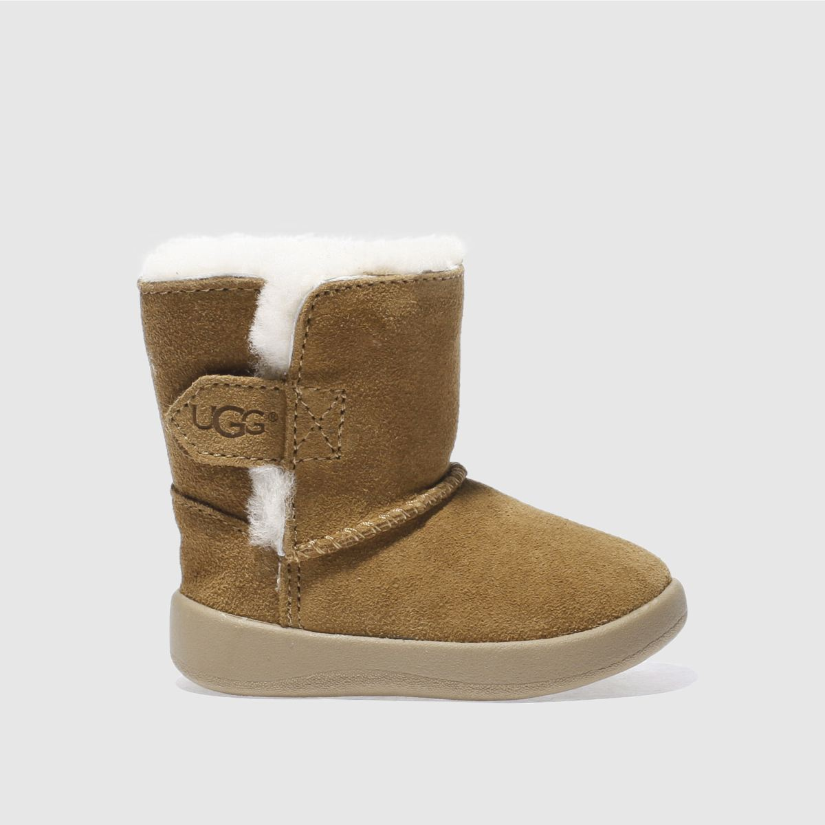 Ugg Tan Keelan Crib Shoes Baby