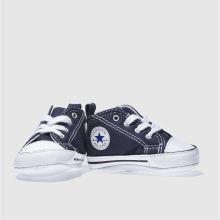 7cd9e60eb Kids Unisex navy converse 1st star ii crib shoes