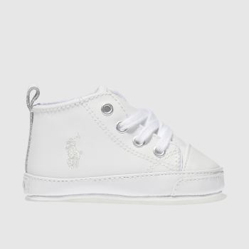 Polo Ralph Lauren White Hamptyn Hi Crib Unisex Crib