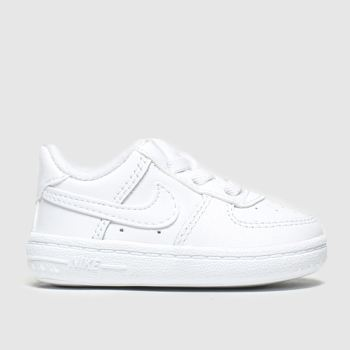 Nike White Air Force 1 Crib Unisex Crib#