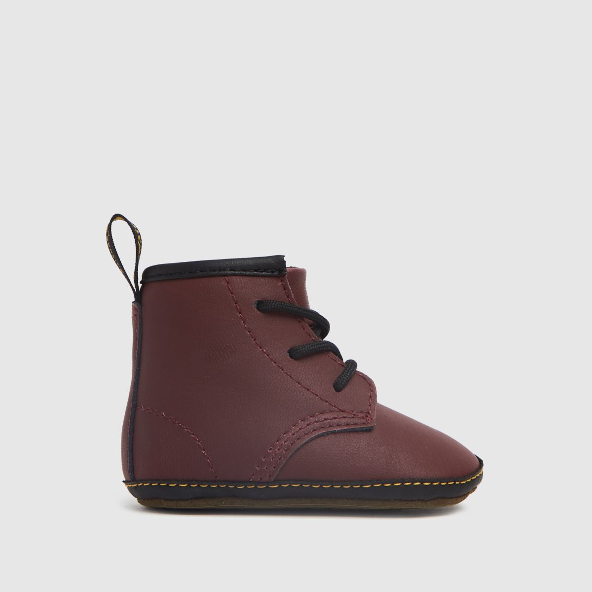 Dr Martens Red 1460 Crib Shoes Baby