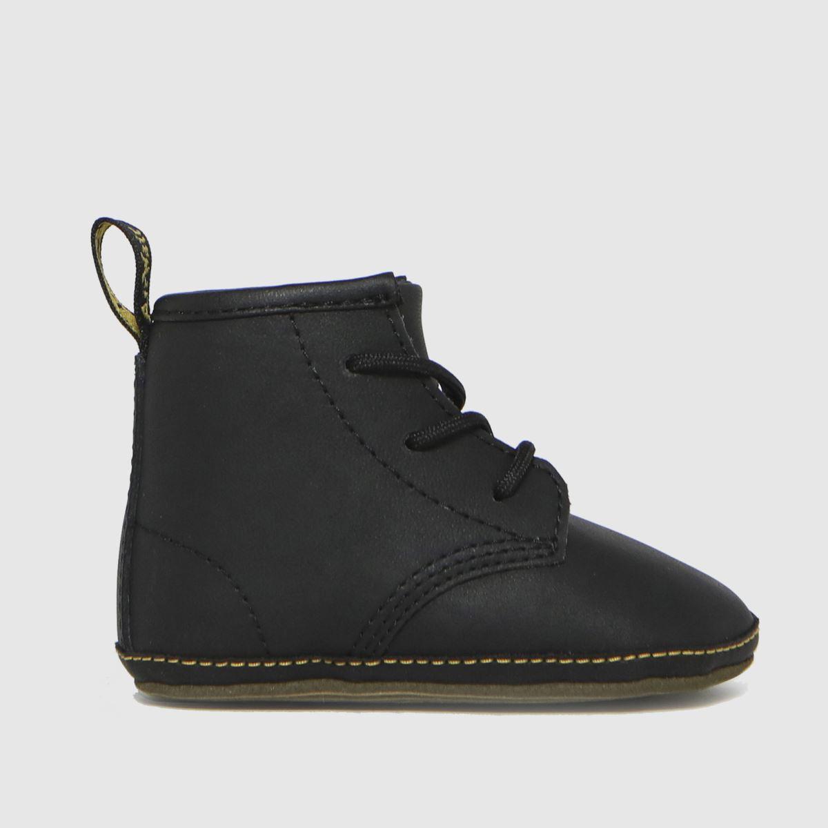Dr Martens Black 1460 Crib Shoes Baby