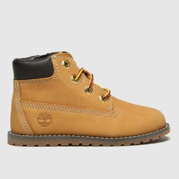 Timberland Tan Pokey Pine Zip Unisex Toddler#
