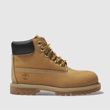 Timberland Natural 6in Premium Unisex Toddler