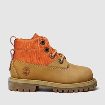 Timberland Natural Timb Rebotl 6in Premium Tdlr c2namevalue::Unisex Toddler