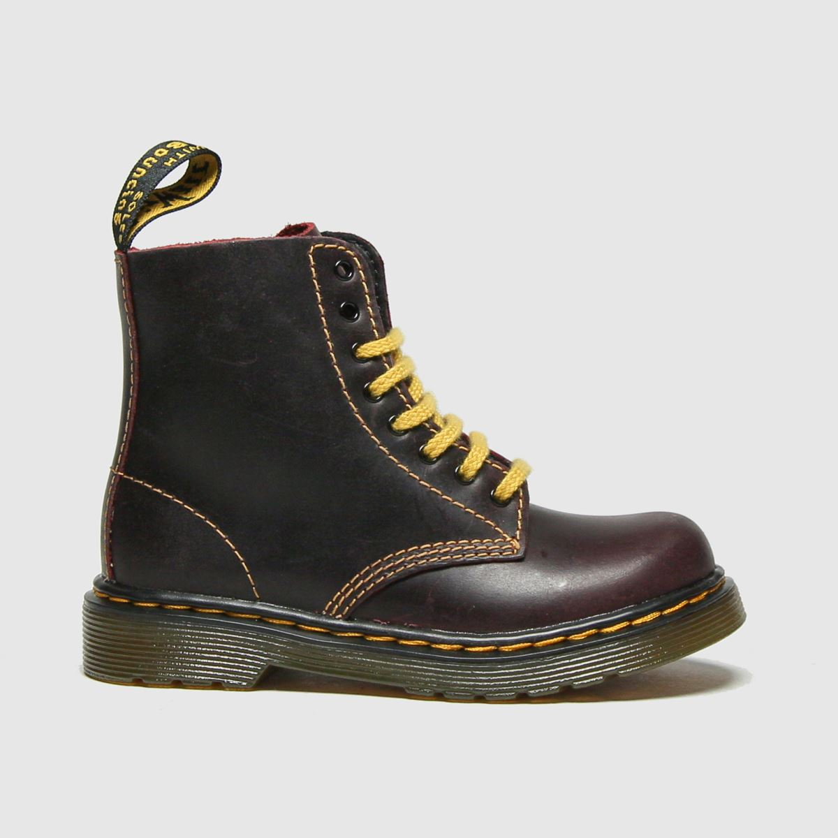 Dr Martens Burgundy 1460 Pascal Boots Toddler
