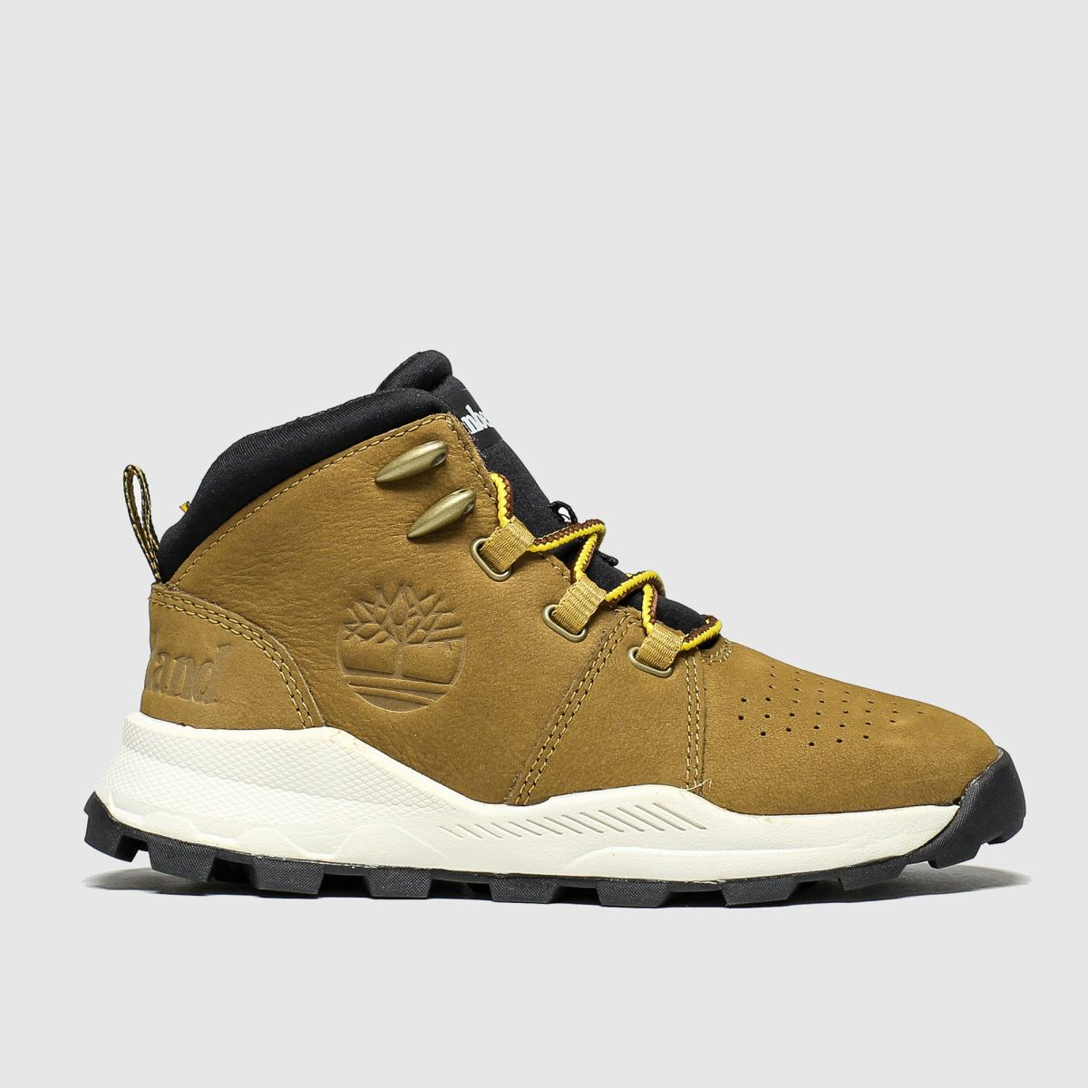 Timberland Tan Brooklyn City Mid Boots Toddler