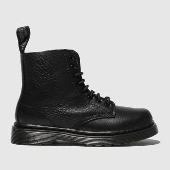 Dr Martens Black 1460 Pascal Mono c2namevalue::Unisex Toddler