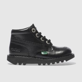 Kickers Black Kick Hi Unisex Toddler