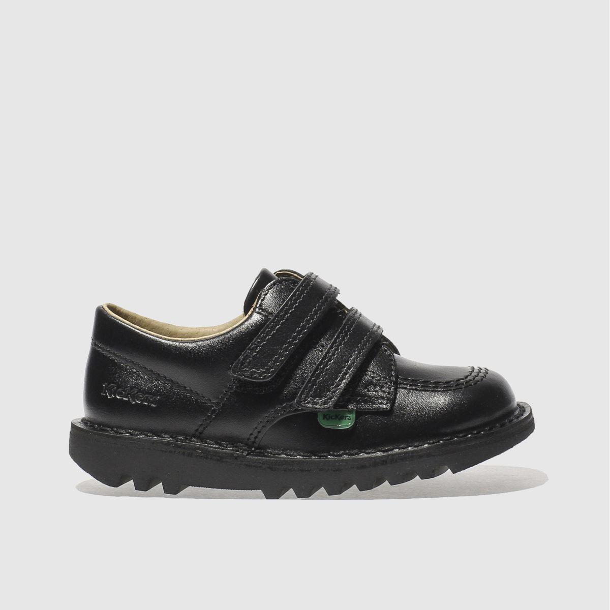 Kickers Black Kick Lo Shoes Toddler