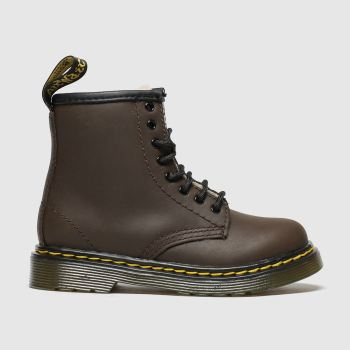 dr martens dark brown 1460 serena boots toddler