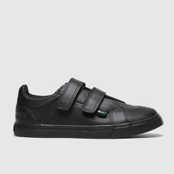 Kickers Black Tovni Twin Unisex Toddler