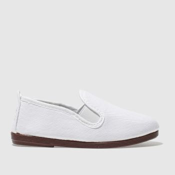 Flossy White PAMPLONA Unisex Toddler