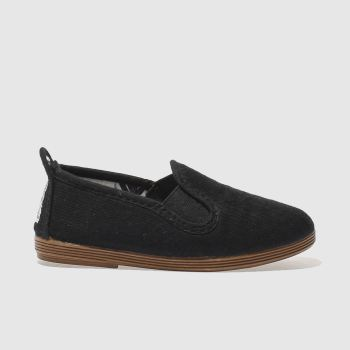 Flossy Black Pamplona Unisex Toddler