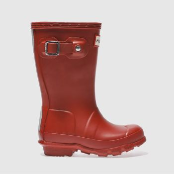hunter red original boots toddler