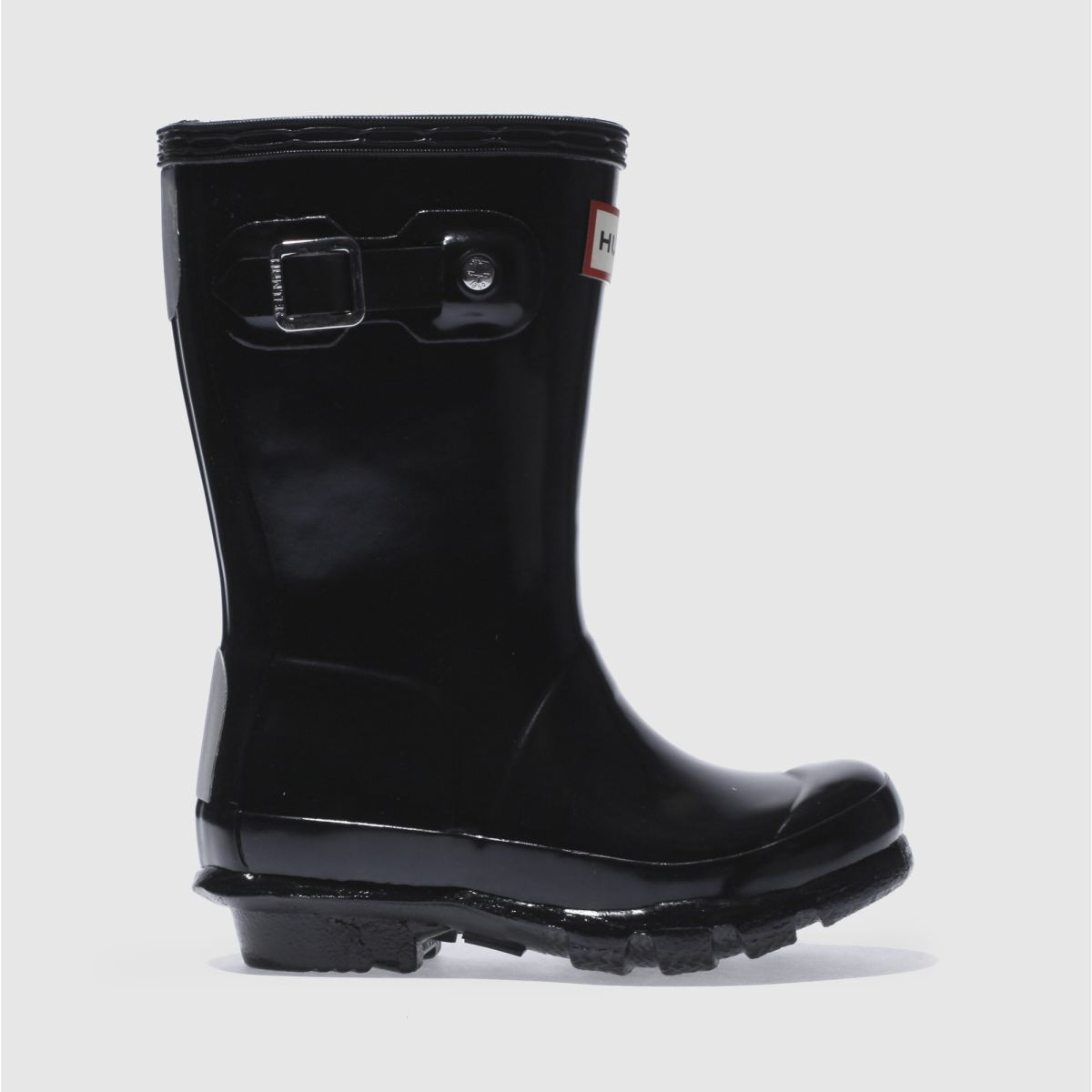 Hunter Black Original Gloss Boots Toddler