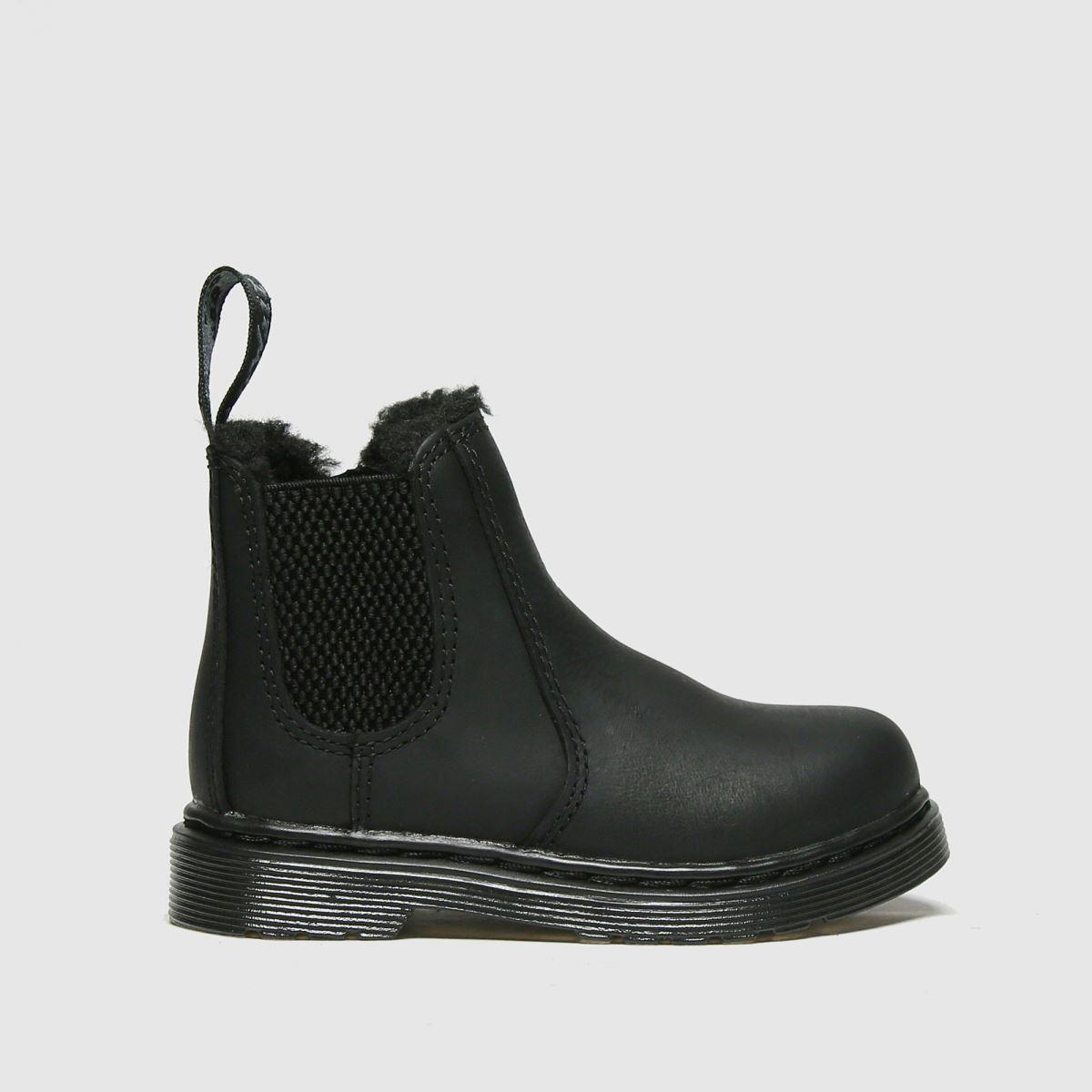 Dr Martens Black Dm 2976 Leonore Mono Tdlr Boots Toddler
