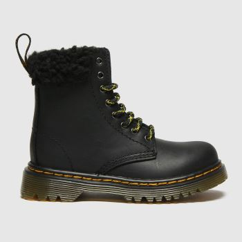 Dr Martens Black 1460 Collar Unisex Toddler