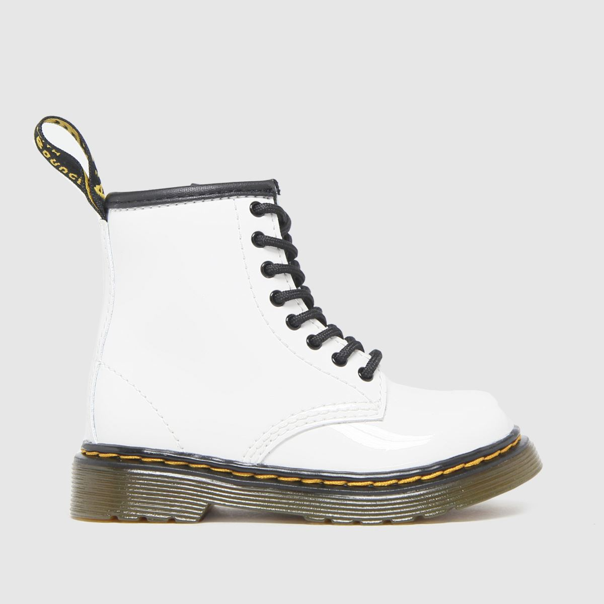 Dr Martens White 1460 Boots Toddler