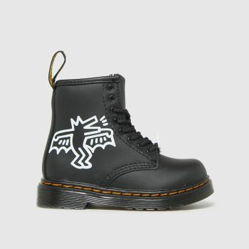 Dr Martens Black & White 1460 Keith Haring Unisex Toddler