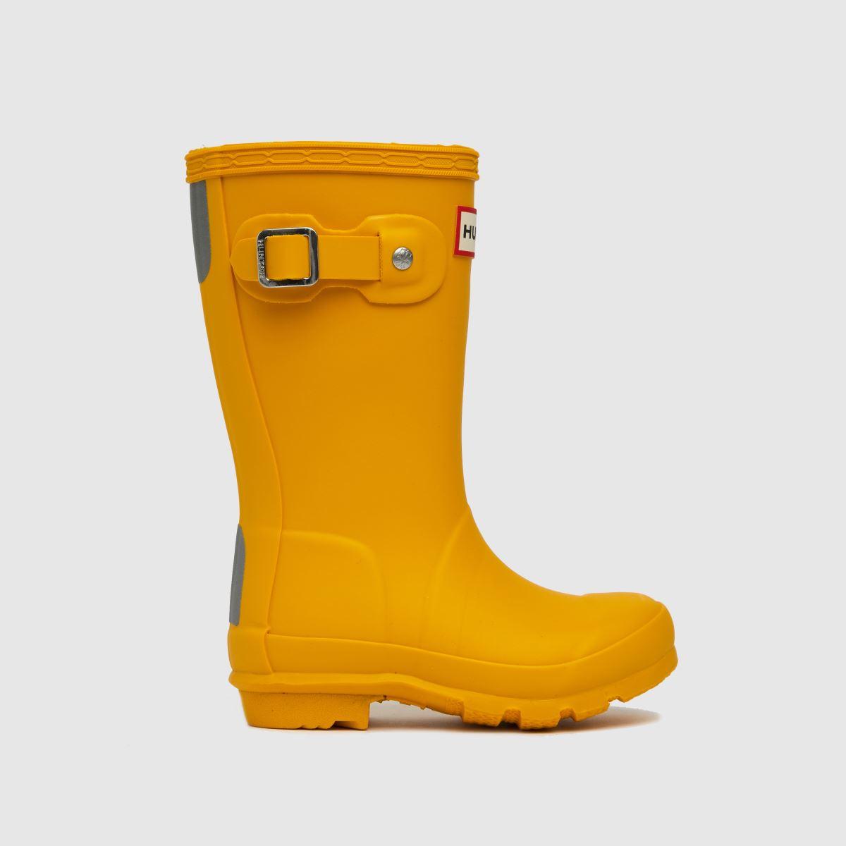Hunter Yellow Original Boots Toddler