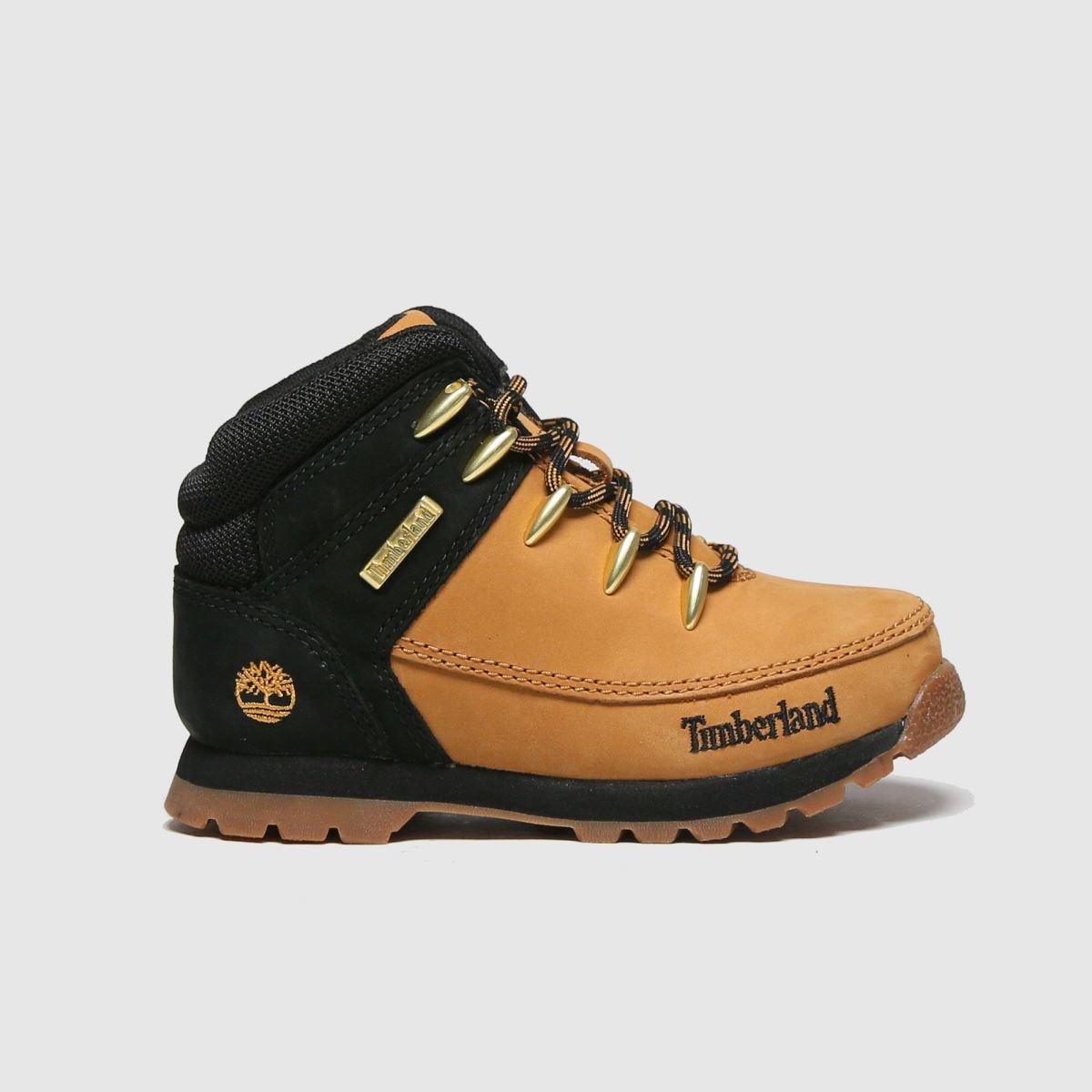 Timberland Natural Euro Sprint Boots Toddler