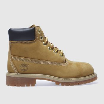 Timberland Natural 6In Premium Unisex Junior