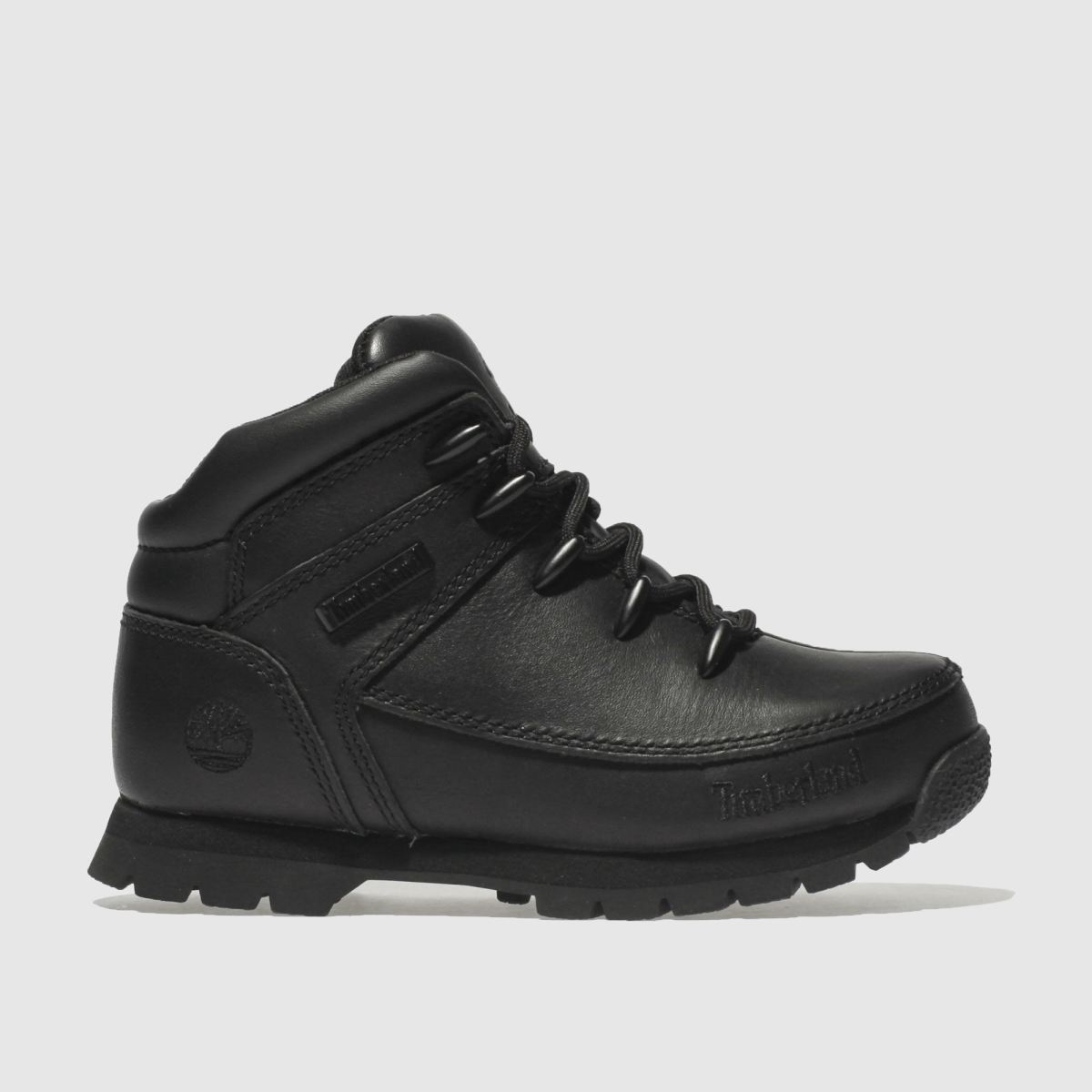 Click to view product details and reviews for Timberland Black Euro Sprint Boots Junior.