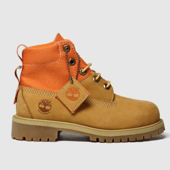 Timberland Natural Timb Rebotl 6in Premium Jnr Unisex Junior