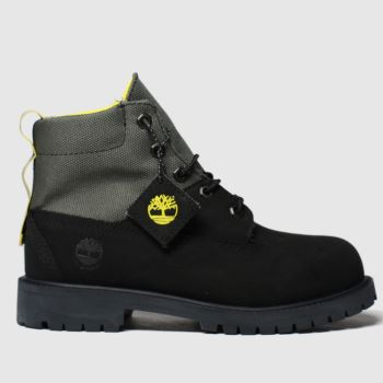 Timberland Black Timb Rebotl 6in Premium Jnr c2namevalue::Unisex Junior
