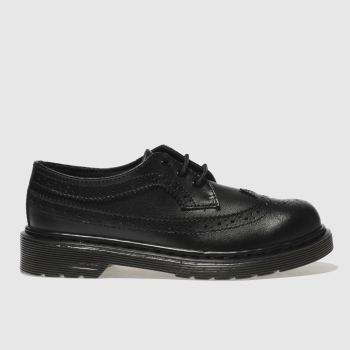 Dr Martens Black 3989 c2namevalue::Unisex Junior
