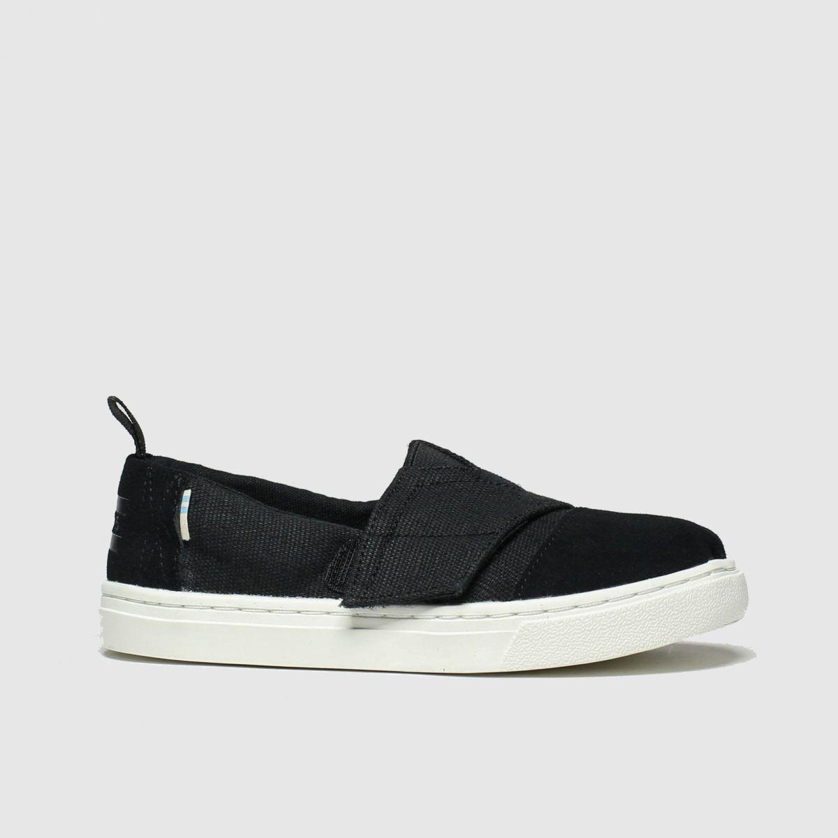 Toms Black Aliso Shoes Junior