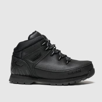 Timberland Black Euro Sprint c2namevalue::Unisex Junior