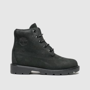 Timberland Black 1973 Newman Unisex Junior