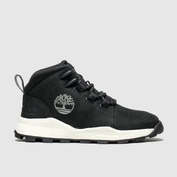 Timberland Black Brooklyn City Mid Unisex Junior