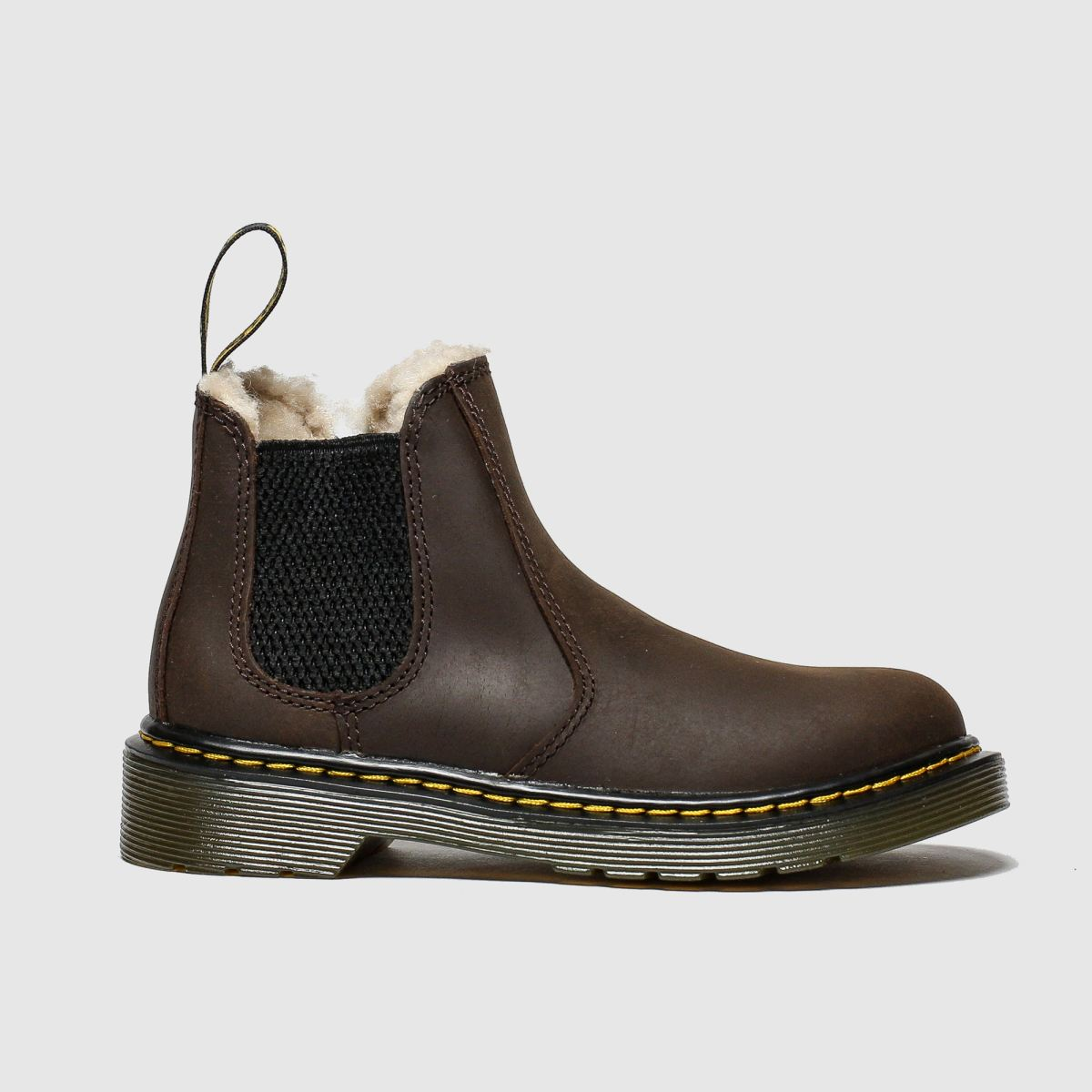 Dr Martens Dark Brown 2976 Leonore Boots Junior
