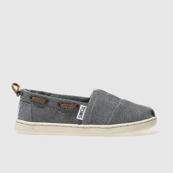TOMS NAVY BIMINI BOOTS JUNIOR