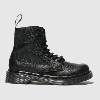 Dr Martens Black 1460 Pascal Mono c2namevalue::Unisex Junior