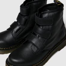 f4368242 Kids Unisex black dr martens 1460 strap boots   schuh