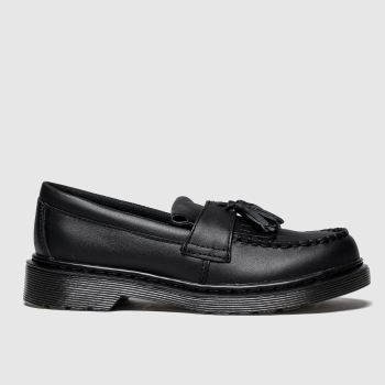 Dr Martens Black Adrian Unisex Junior