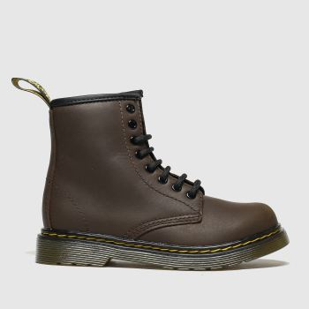 Dr Martens Dark Brown 1460 Serena Unisex Junior