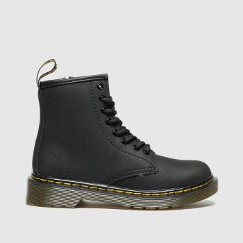 dr martens black 1460 serena boots junior