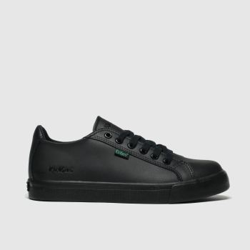 Kickers Black Tovni Lacer Unisex Junior