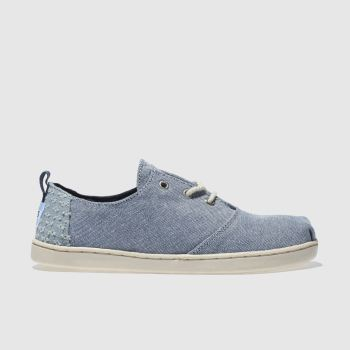 Toms Navy Lumin Unisex Junior