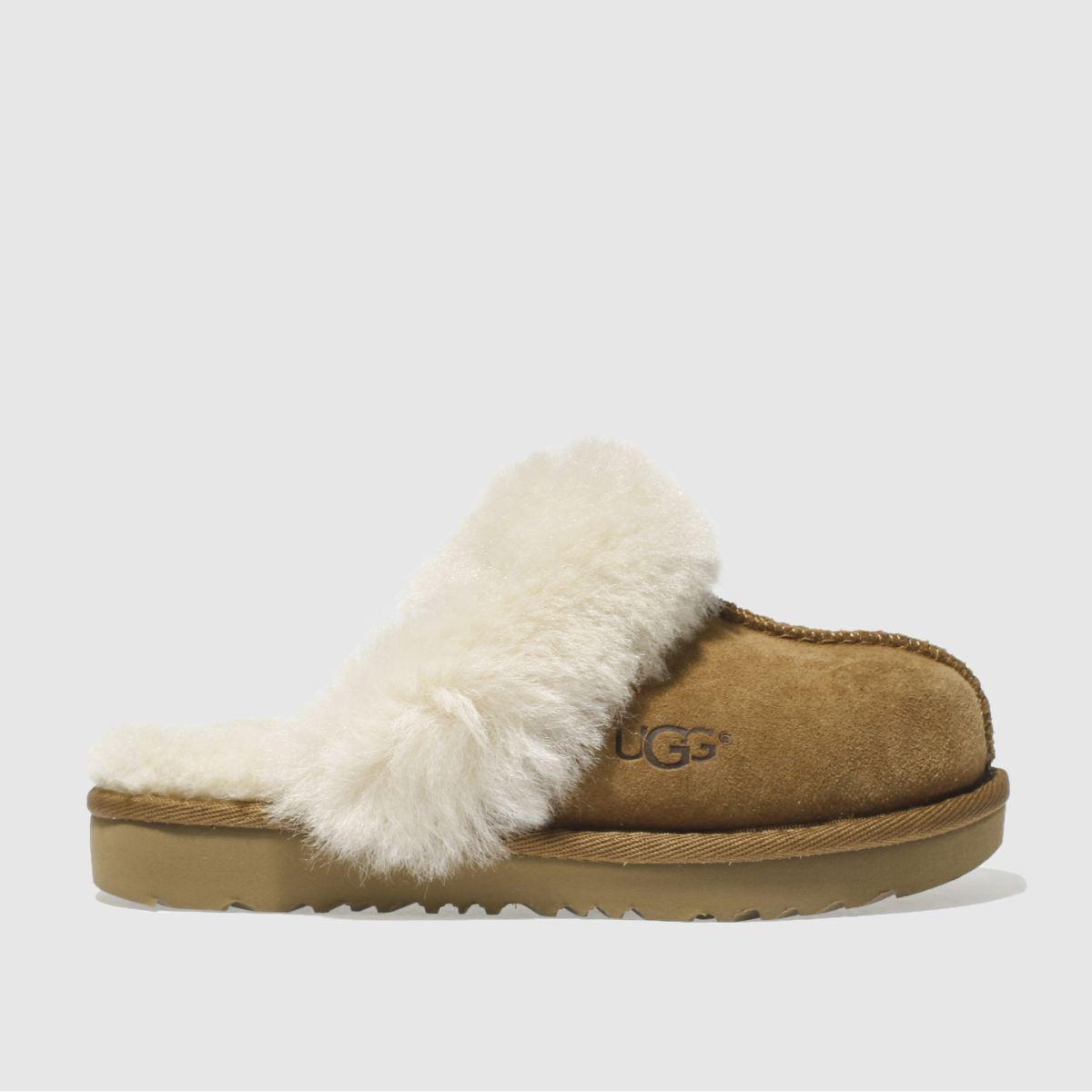 UGG Tan Cozy Ii Slippers Junior | UK 10