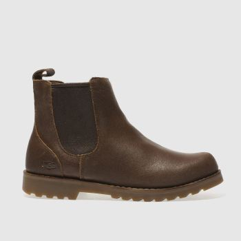 UGG BROWN CALLUM JUNIOR BOOTS