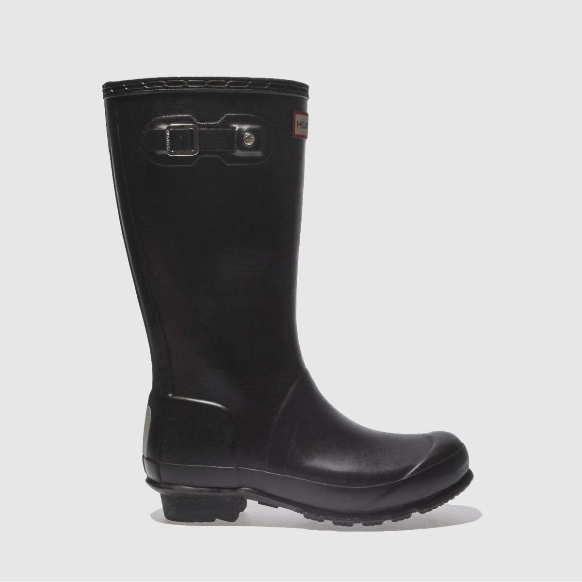 Hunter Black Original Boots Junior