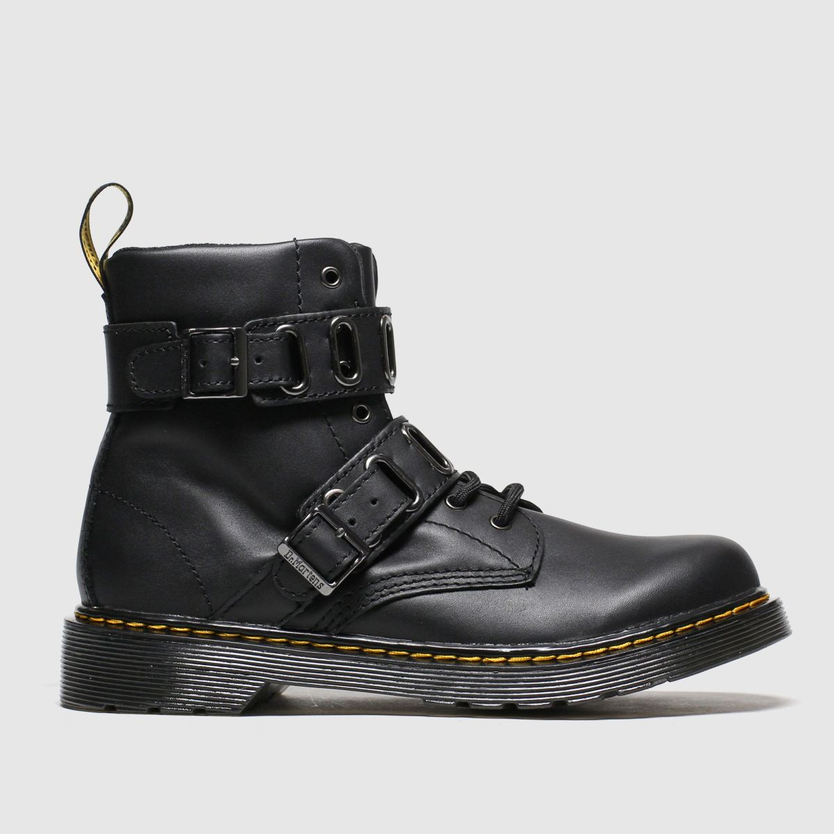 Dr Martens Black 1460 Quynn Boots Junior