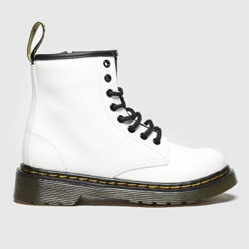 Dr Martens White 1460 Unisex Junior